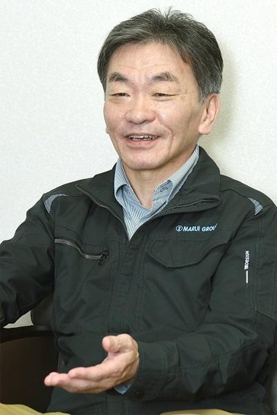 丸井織物株式会社 代表取締役社長 宮本 好雄